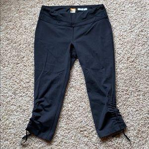 Lucy Hatha Powermax Cropped workout pants, black M